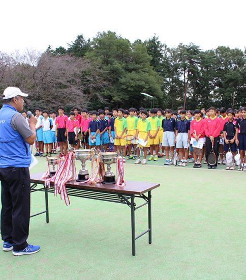 2016年10月10日 真岡市中学生ソフトテニス大会