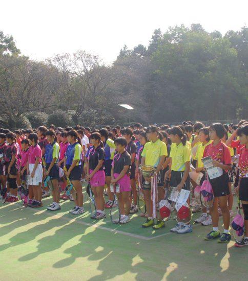 2017年10月9日 第50回真岡市中学校ソフトテニス大会